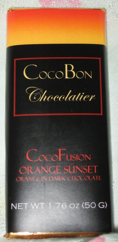 Orange Sunset Fusion Bar