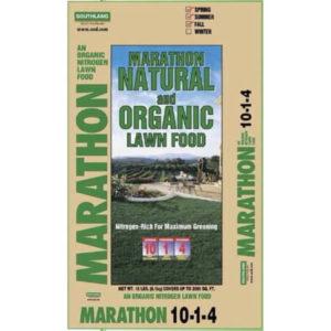 marathon organic lawn food