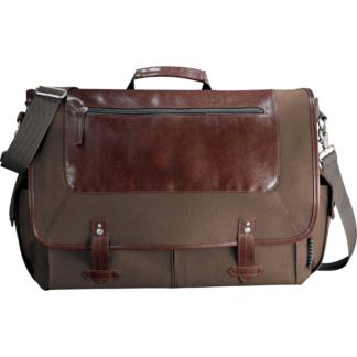 "Field & Co.? Classic 15"" Computer Messenger Bag"