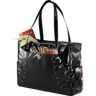 Fine Society Nicole Quilted Compu-Tote