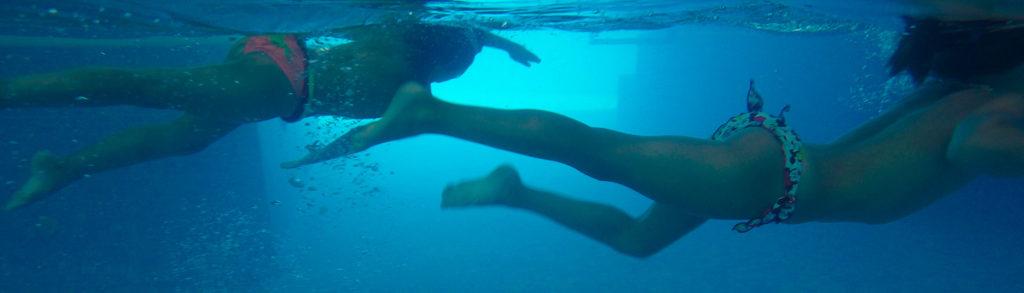 Qué significa nadar