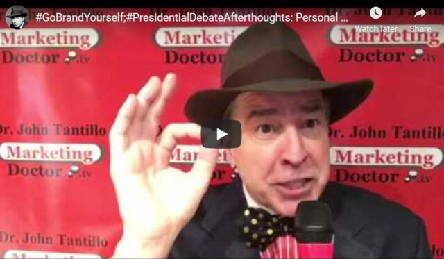 Personal Branding becomes more important than ever in politics!