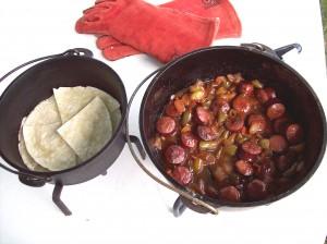 Sweet and Heat Smoked Sausage Dinner