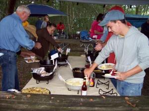 Breakfast Buffet, Mountain Style