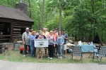 The Great Folks who cooked at the Dutch Oven Gathering