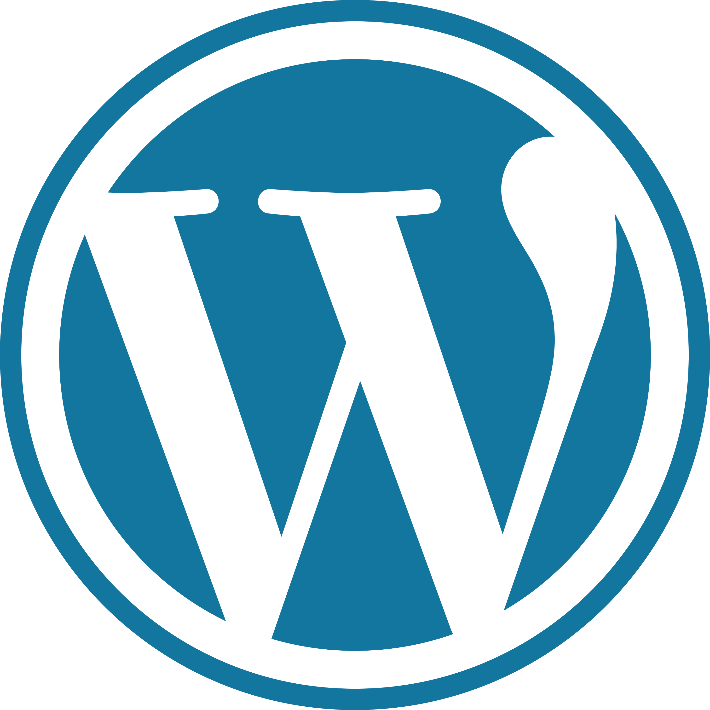 2020 - WordPress - W Mark (blue)