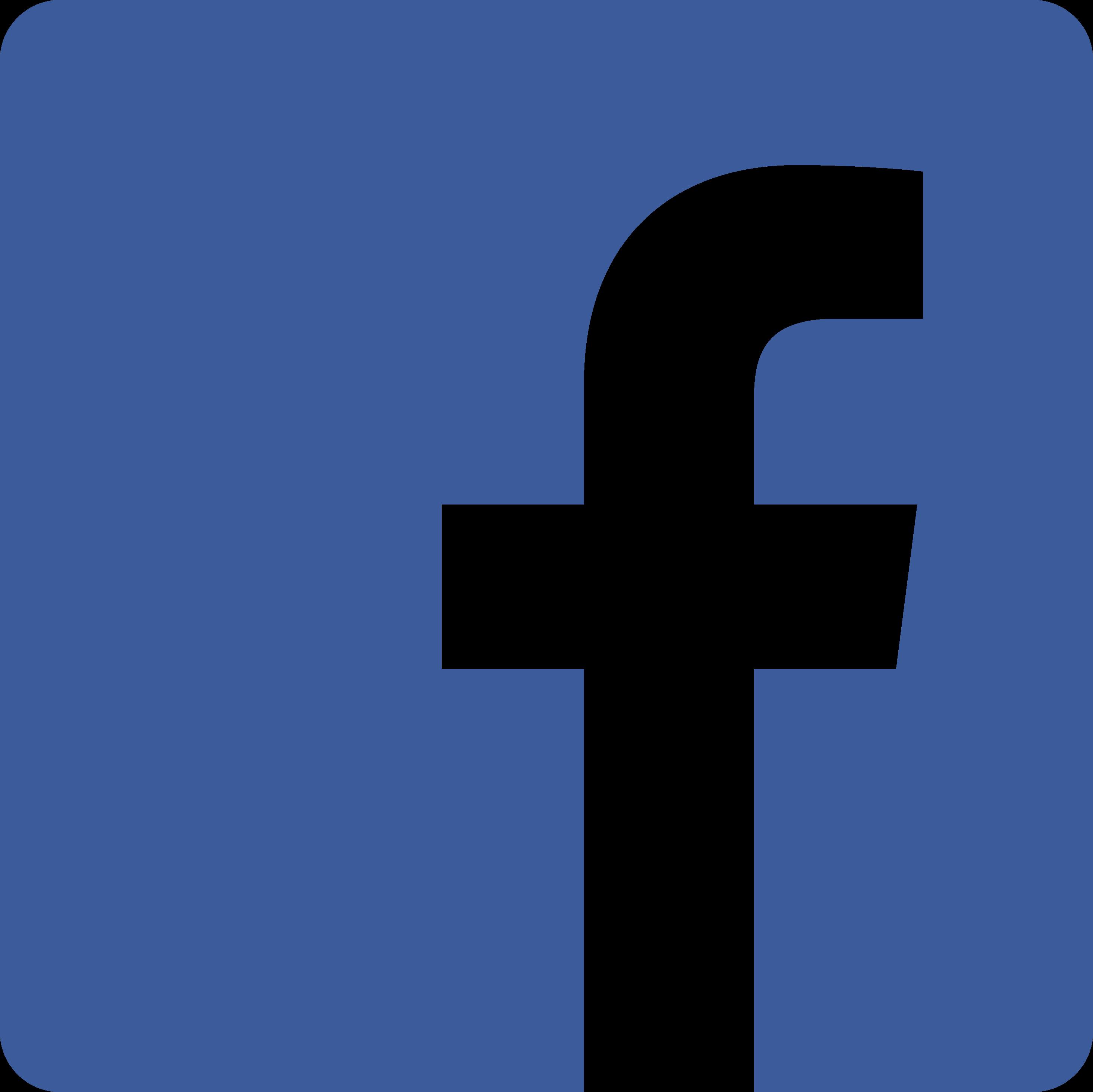 Facebook - Icon - Transparent (blue)