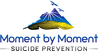 Moment by Moment Suicide Prevention Logo