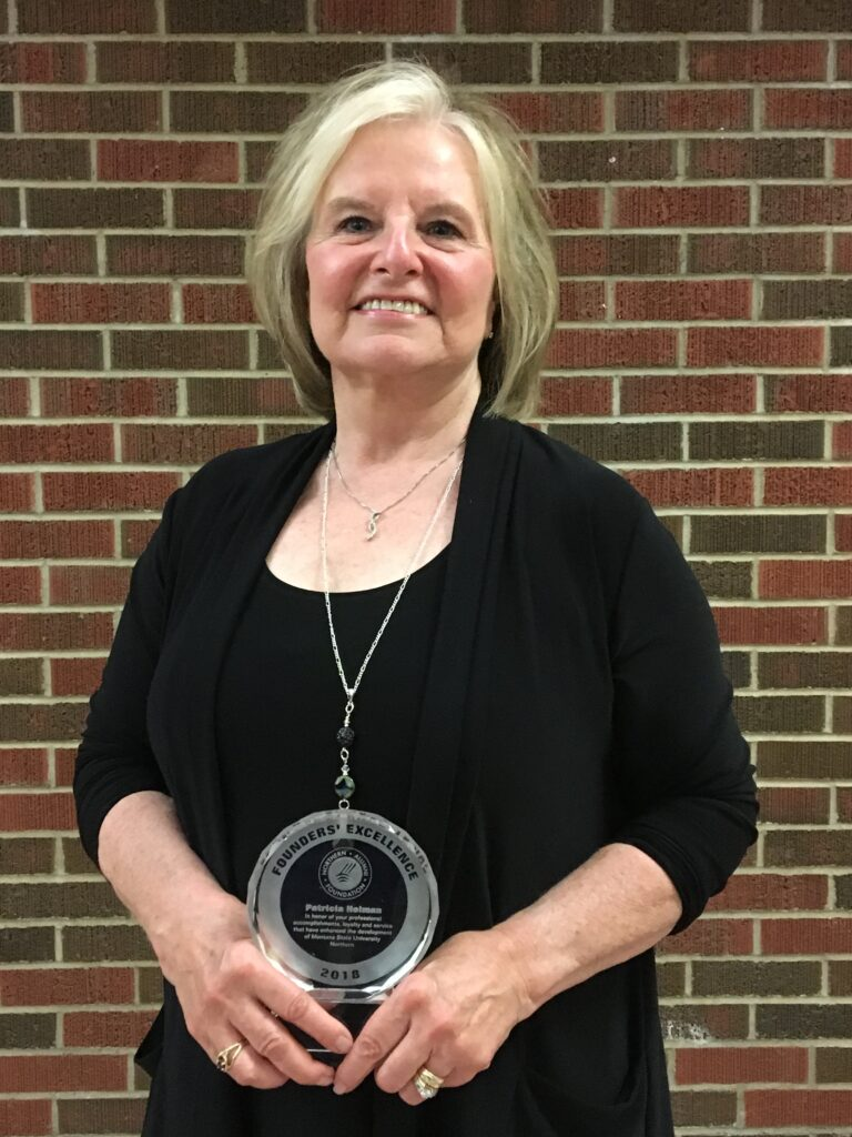 2018 Founder's Excellence Winner Patricia Holman