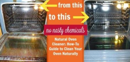 CLEAN OVEN WITHOUT HARSH CHEMICALS