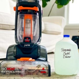 natural carpet steam cleaning solution