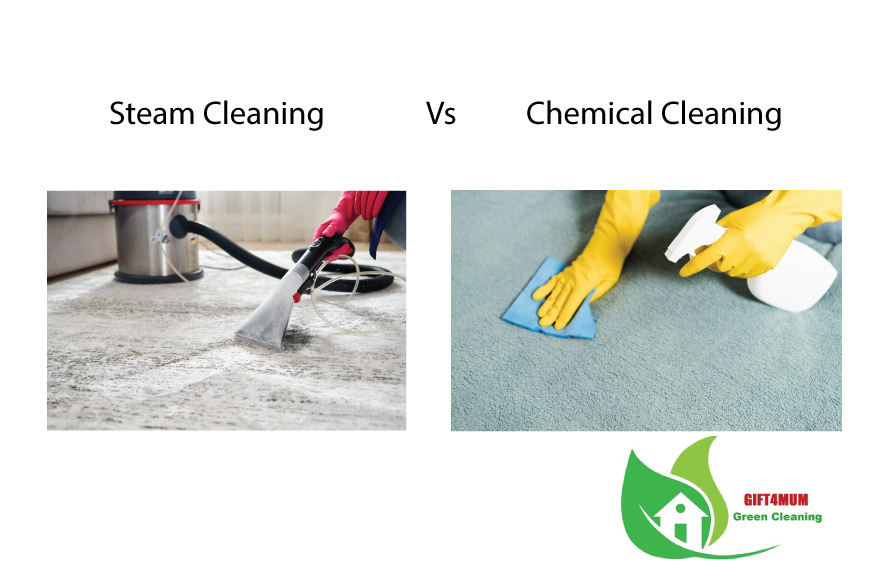 Which is better steam carpet cleaning or chemical carpet cleaning?