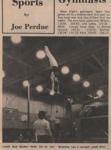 Jon Mutchler High Bar Bremerton c1977