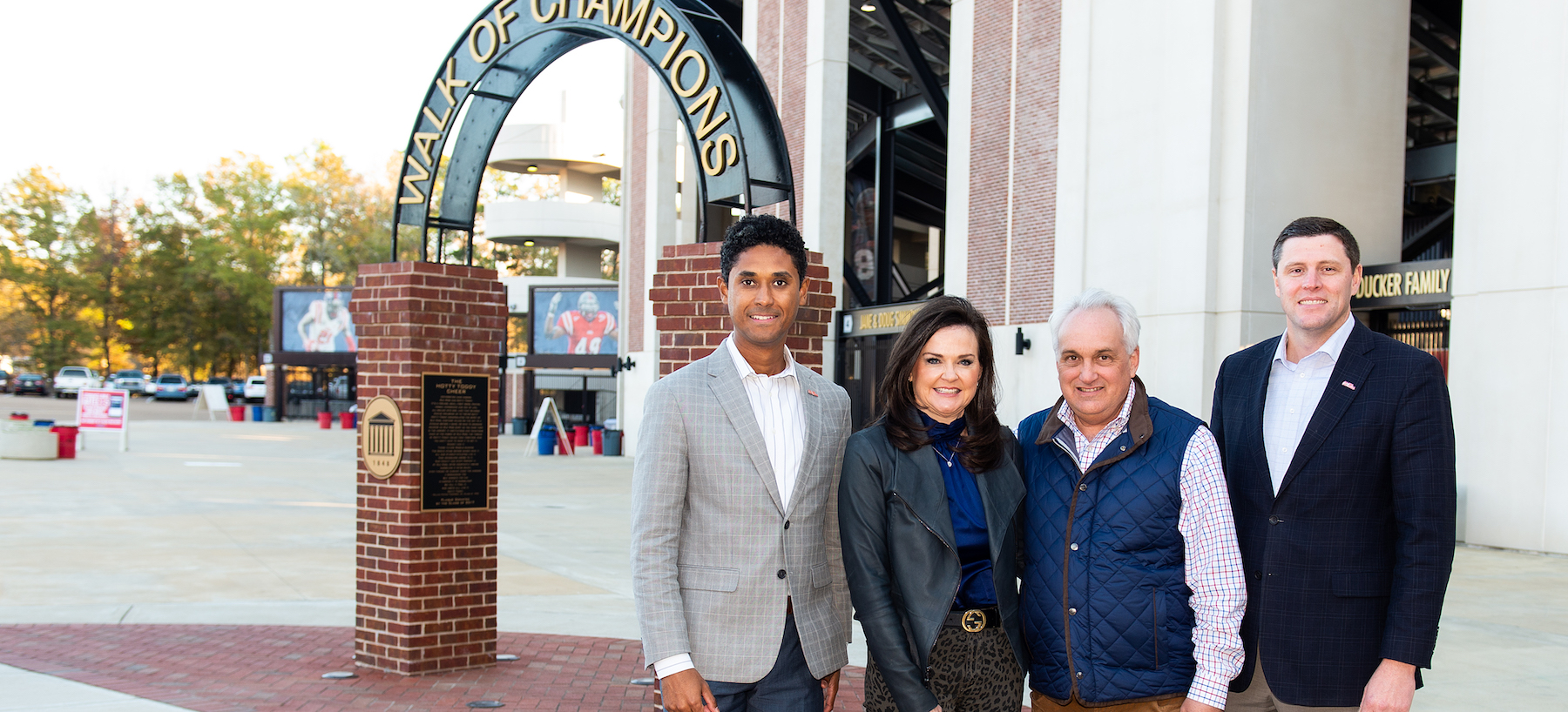 RJ Young President Supports Ole Miss Athletics with Major Gift