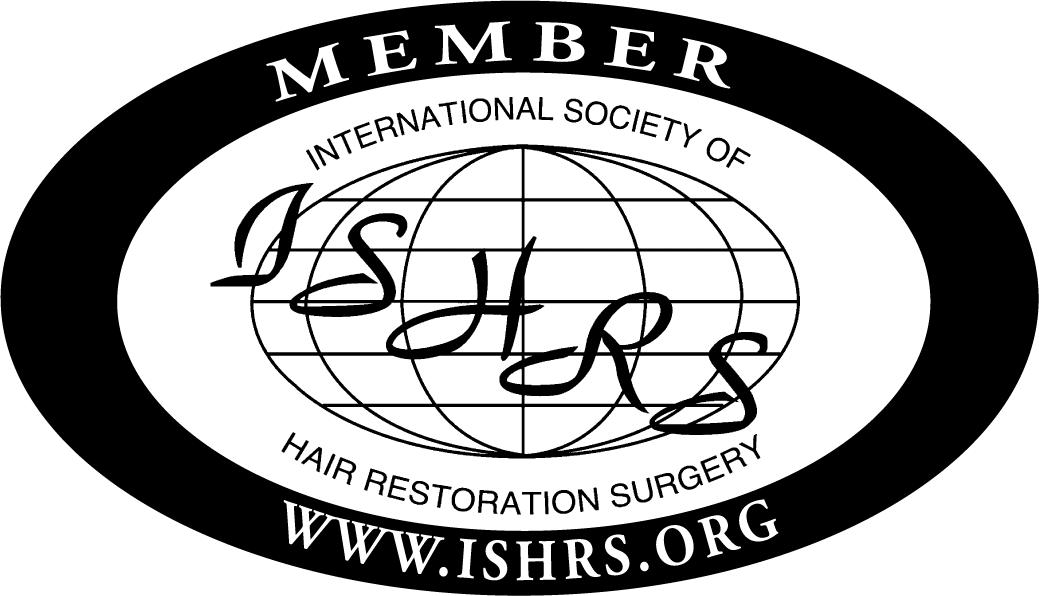 MEMBER OF THE INTERNATIONAL SOCIETY OF HAIR RESTORATION SURGERY