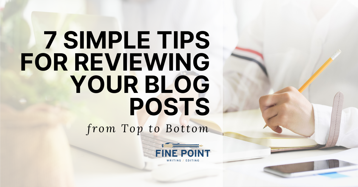Reviewing Blog