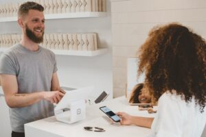 Customer purchasing