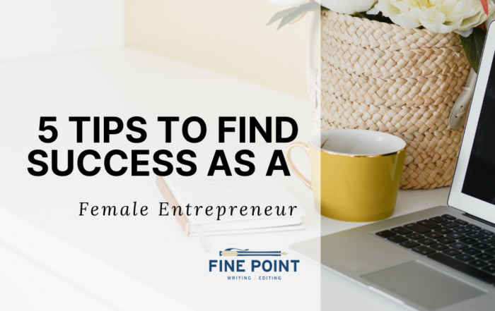 5 Tips to Find Success as a Female Entrepreneur