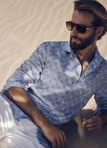 stenströms-chemise-bleu-océan
