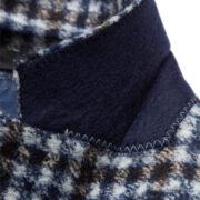 Digel-la-veste-blazer-ajustee-motif-a-petits-quadrilles-bleu-et-marron-2