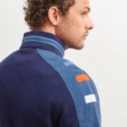 saintjames-cardigan-bleu-zippe-et-details-contrastes-avec-surpiqures-1