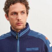 saintjames-cardigan-bleu-zippe-et-details-contrastes-avec-surpiqures-2