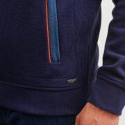 saintjames-cardigan-bleu-zippe-et-details-contrastes-avec-surpiqures-4