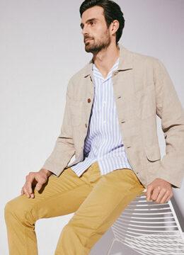 gardeur-le-pantalon-de-coton-rafraichissant-couleur-unie