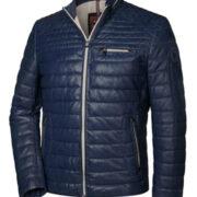 milestone-blouson-cuir-leger-design-sportif-et-finition-vintage-marine-2