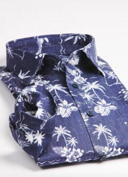 haupt-la-superbe-chemise-au-motif-tropical-en-marine-blanc