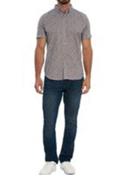 robert-graham-la-chemise-manches-courtes-imprime-kaleidoscope-ludique-et-boutons-contrastes