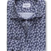 stenstroms-la-chemise-classique-oxford-motif-de-fleurs-imprime-marine-beige-et-blanc-2