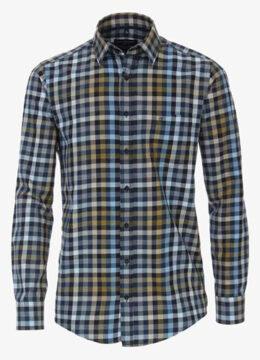 casa-moda-la-chemise-a-carreaux-en-coton-biologique-aux-teintes-bleutees-et-ocre