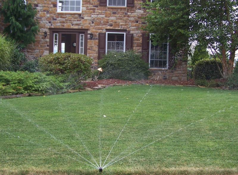 home garden irrigation