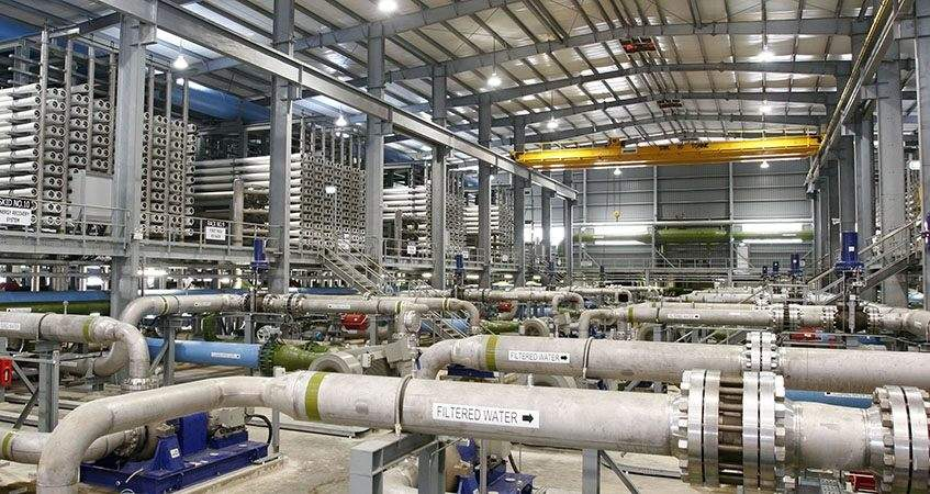 Desalination plants