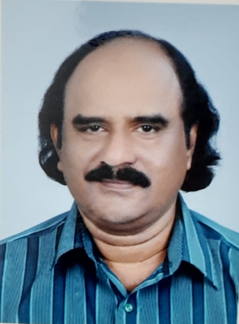 Mr. Madhu Kumar, Senior Scientist Officer – Dialysis & Renal Perfusion, Dept. of Nephrology Govt. Medical College, Thiruvnathapuram, Kerala