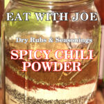Eat with Joe Spicy Chili Powder Pin Image