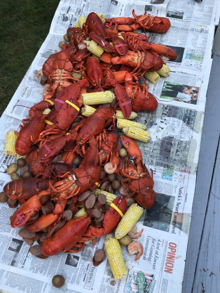 Eat with Joe Maine Lobster Boil