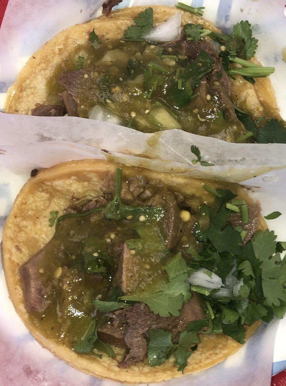 Tacos El Gordo Lengua Taocs