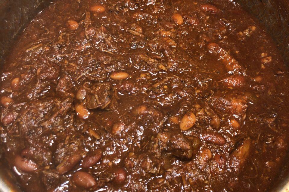 Spicy Texas Beef Brisket Chili