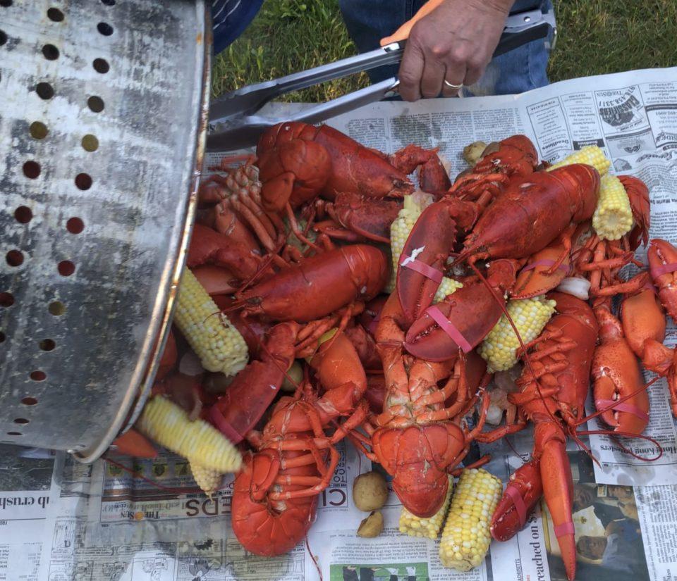Eat With Joe Lobster Boil Dumping Pot