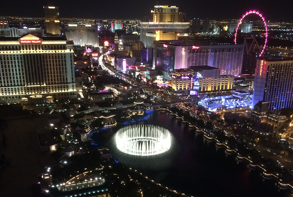 Las Vegas Cosmopolitan View Night