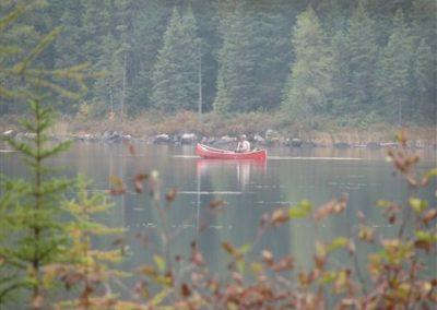 solitude in a canoe