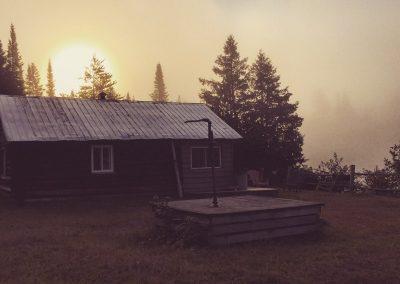 sunrise at shooting star camp