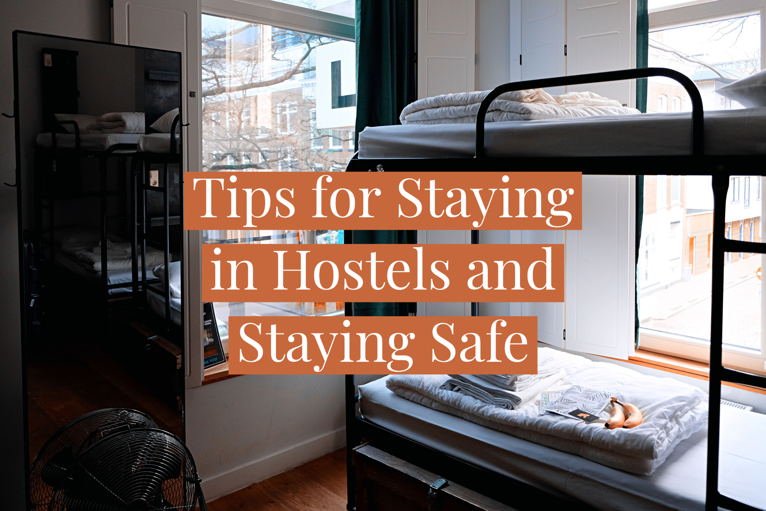 staying in hostels, backpacking europe