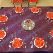 Spring Table, Chiavari Chairs