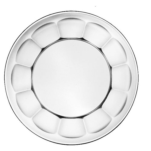 """Scalloped Plate, 7"""""""