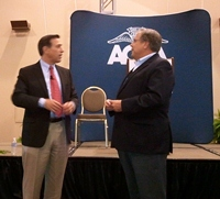 Congressman Issa and AOPA CEO Craig Fuller