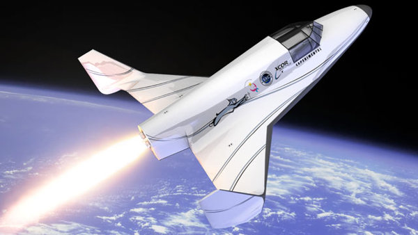 XCOR SPace Craft