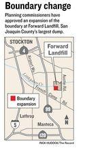 stockton landfill